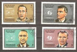 Sharjah 1969 Astronats Fine Used.