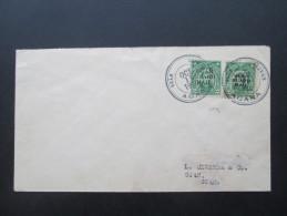 Rarität!! USA / Guam Guard Nr. 1 Und 5 MiF. RAR!! 1930 Guam Service AGANA. Inlandspost Nach Verordnung Willis W. Bradley - Guam