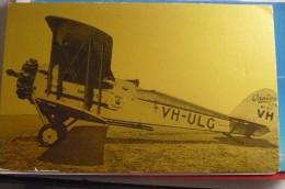 AIRLINES ISSUE / CARTE COMPAGNIE     QANTAS - 1946-....: Era Moderna
