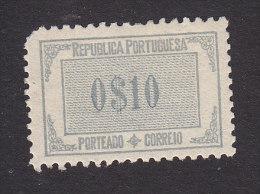 Portugal, Scott #J46, Mint Hinged, Postage Due, Issued 1932 - Unused Stamps