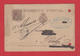 Espagne  // Entier Postal //   De Barcelone //  Pour Berlin  //  1891