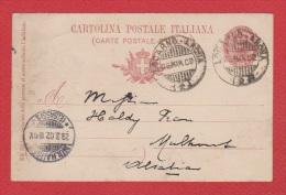 Italie // Entier Postal //  Pour Mulhouse  //  29/03/02 - Entiers Postaux
