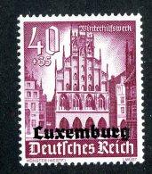13597 - Luxembourg 1941  Michel # 41** ( Cat. €3. ) - 1940-1944 Deutsche Besatzung