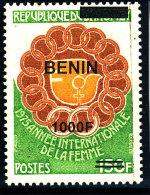 Bénin 2009 (Année Int.de La Femme - 1000F/ 150F )  Luxe **  RARE - Benin – Dahomey (1960-...)
