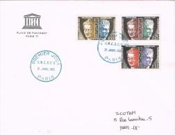 16025. Carta PARIS 1961. UNESCO. - UNESCO