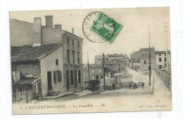 CPA 42 St Saint Just Sur Loire Le Croupillon  Port Simple Gratuit - Saint Just Saint Rambert