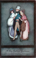Illustration Jennie HARBOUR - EARLY VICTORIAN - Oilette De Luxe - A Very Gallant Gentleman- Série III - - Contes, Fables & Légendes