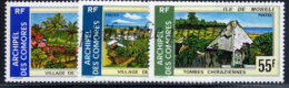 -Comores 101/103** - Unused Stamps