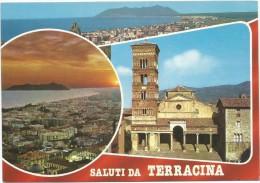 O496 Saluti Da Terracina (Latina) - Panorama Vedute Multipla / Non Viaggiata - Altre Città