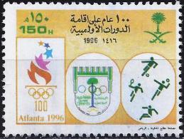 Saudi Arabia 1996 - Atlanta Olympics ( Mi Xxx - YT 992 ) - Summer 1996: Atlanta