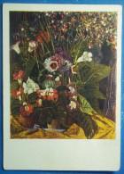 2473 Artist Golovin. Still Life. Flowers - Paintings