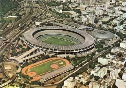 BRASIL, RIO DE JANEIRO: Football Stadium Stadion Stade Stadio Estadio Mario Filho (Maracanã) , 2 Scans - Rio De Janeiro