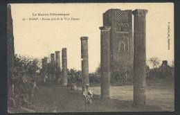 CPA - Afrique - Le Maroc Pittoresque - RABAT - Ruines Près De La Tour Hassan    //