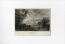 Gravure CAMBODGE - Temple ANGKOR - THOM - - Prenten & Gravure