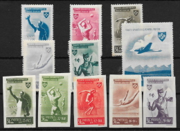 RUMANÍA YVERT Nº 843/48*-849/53* - 1948-.... Repúblicas