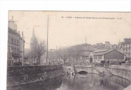 25530 CAEN - Abreuvoir Saint Pierre Et Poissonnerie - LD  -lavandiere - Caen