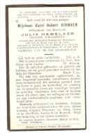 Meerhout Grimbergen Schoolhoofd Kinnaer Hemelaer 1948 - Vieux Papiers