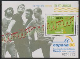 D 1110) Spanien 2006 Mi# 4168 Block 155 **: Notenzeile - 2001-10 Unused Stamps