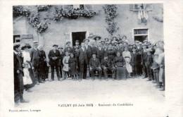 87. HAUTE-VIENNE - VAULRY. 15 Juin 1913. Souvenir Du Centenaire, M. Bureau, Receveur Des Postes Pendant 50 Ans !!! - France