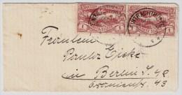 """Oberschlesien, Selt. Stp. """" Eintrachthütte """", #4366 - Deutschland"""