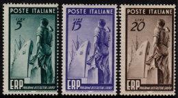 ~~~ Italia 1949 - ERP Marshall Plan - Mi. 774/776 ** MNH - CV 130.00 € ~~~ - 1946-60: Nuovi