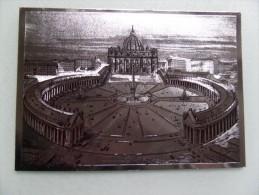 50557 POSTCARD: ITALY: VATICAN: CITTA DEL VATICANO: Basilica Di S.Pietro E Colonnato Del Bernini. - Vatican