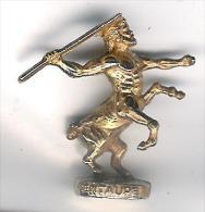 Fève Métal Doré Les Rois De L´Olympe: Le Centaure - Olds
