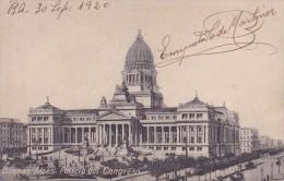 POSTAL DE  BUENOS AIRES DEL PALACIO DEL CONGRESO DEL AÑO 1920 (ARGENTINA) - Argentinië