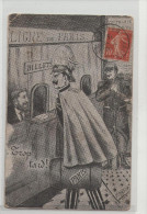 """CPA Colorisée - Humour - - PARIS - Ligne De Paris - """"trop Tard"""" - Guerre 1914-18 - 1914-18"""