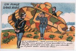 CPA - Humour - CHAR - Un Pince Sans Rire - Originale Et état Parfait - 1914-18