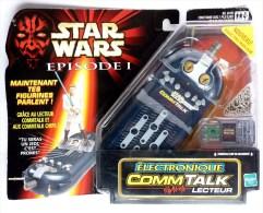 STAR WARS 1999 BLISTER EPISODE 1 ELECTRONIQUE COMMTALK LECTEUR - Episodio I