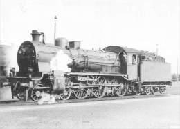 Belgique       Chemin De Fer . Vapeurs Belges (format  14,5x10,5) Dépot De  Marelbeke. Locomotive - Belgium