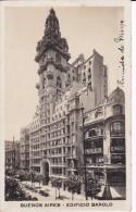 POSTAL DE  BUENOS AIRES DEL EDIFICIO BAROLO DEL AÑO 1925 (ARGENTINA) - Argentinië