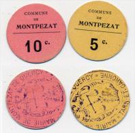 MONTPEZAT // Tarn & Garonne // 5 & 10 Centimes - Bons & Nécessité