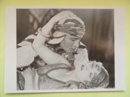 CARTE POSTALE POSTCARD SON OF THE SHEIK AVEC RUDOLPH VALENTINO - Acteurs