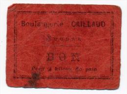 SOUDAN // BOULANGERIE CAILLAUD // 2 Kilos De Pain - Bons & Nécessité