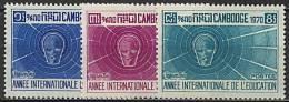 Cambodge, N° 255 à N° 257** Y Et T - Cambodia