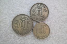 Finland 10 - 50 Markkaa  1953-54 - Finlande