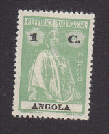 Angola, Scott #137, Mint Hinged, Ceres, Issued 1925 - Angola