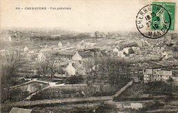 CPA - CHERBOURG (14) - Aspect Du Quartier Des Usines En 1910 - Cherbourg