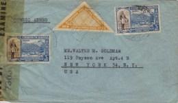 Bolivia; Censored Cover To USA 1944 - Bolivia