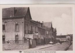 CHATEAUPONSAC  AVENUE DE LA GARE - Chateauponsac