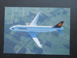 AK / Echtfoto Flugzeug Lufthansa Airbus A320 - 200. - 1946-....: Moderne