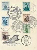 WIEN - 1951 , Internationale Frühjahrsmesse - Poststempel - Freistempel