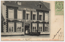 BELGIQUE - QUIEVRAIN - Café LOUIS - Place De La Gare - Quiévrain