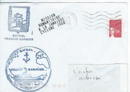 11946  MISSION HUMANITAIRE à La JAMAÏQUE - CYCLONE YVAN - BATRAL FRANCIS GARNIER - 2004 - Marcophilie (Lettres)