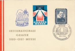 GRANZ - 1963 , Frühjahrsmesse - Poststempel - Freistempel