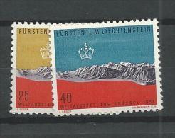 1958 MNH,  Liechtenstein, Postfris - Liechtenstein