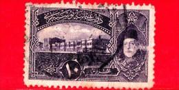 TURCHIA - Usato - Impero Ottomano - 1916 - Palazzo Dolma Bahce E Mohammed V - 10 - 1858-1921 Impero Ottomano