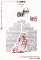 """(Prix à La Poste = 5.00 €) 2010 """" COLMAR / HAUT-RHIN """" Sur Doc Officiel 1°Jour. N° YT 4443. DPO - Documentos Del Correo"""